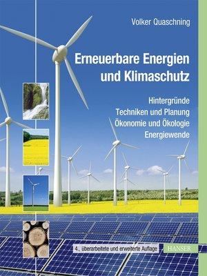 cover image of Erneuerbare Energien und Klimaschutz