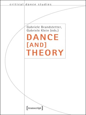 cover image of Dance [and] Theory