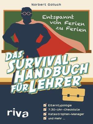 cover image of Das Survival-Handbuch für Lehrer