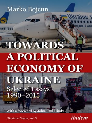 cover image of Towards a Political Economy of Ukraine