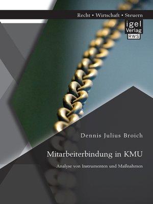 cover image of Mitarbeiterbindung in KMU