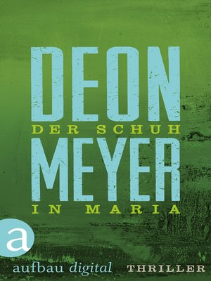 cover image of Der Schuh in Maria
