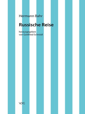 cover image of Russische Reise