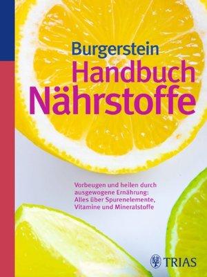 cover image of Handbuch Nährstoffe