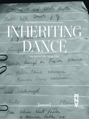 cover image of Inheriting Dance