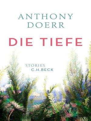 cover image of Die Tiefe