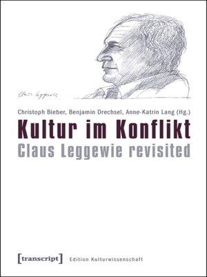 cover image of Kultur im Konflikt