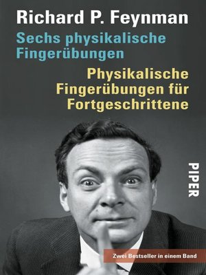 cover image of Sechs physikalische Fingerübungen <li> Physikalische Fingerübungen für Fortgeschrittene