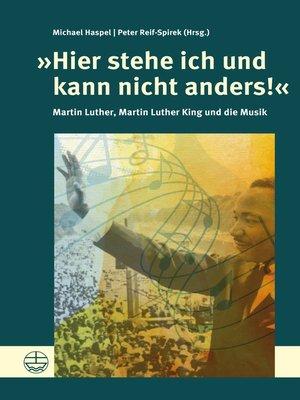 cover image of »Hier stehe ich und kann nicht anders!«