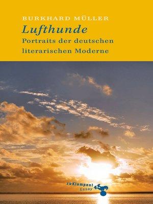 cover image of Lufthunde