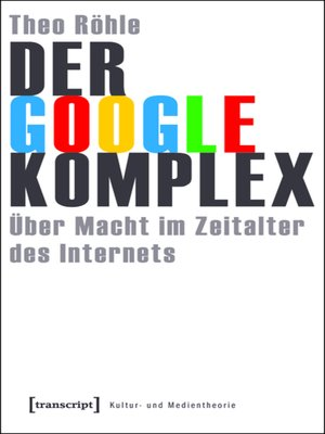 cover image of Der Google-Komplex