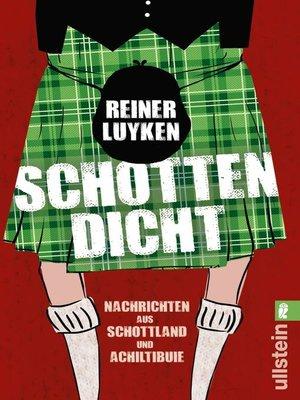 cover image of Schotten dicht