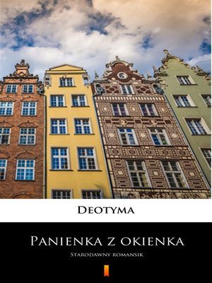 cover image of Panienka z okienka