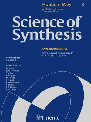 cover image of Science of Synthesis
