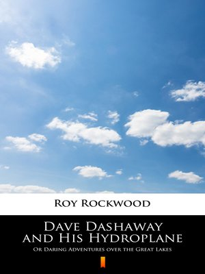 cover image of Dave Dashaway and His Hydroplane
