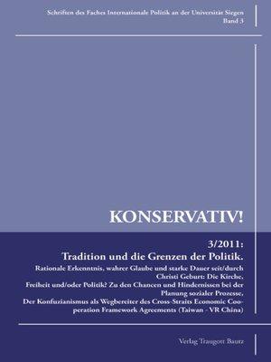 cover image of Tradition und die Grenzen der Politik