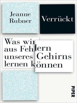 cover image of Verrückt