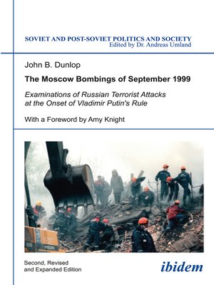 cover image of The Moscow Bombings of September 1999
