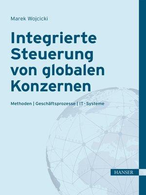 cover image of Integrierte Steuerung von globalen Konzernen