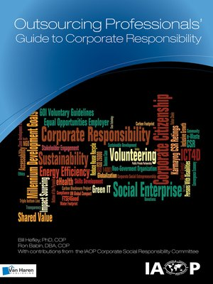 cover image of Outsourcing Professionals'  Guide to Corporate  Responsibility