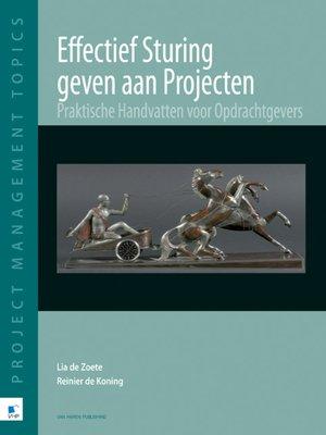 cover image of Effectief sturing geven aan Projecten