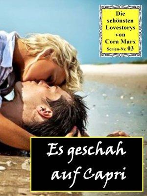 cover image of Es geschah auf Capri