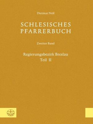 cover image of Schlesisches Pfarrerbuch