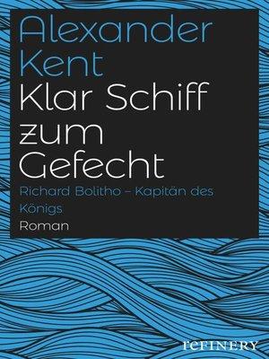 cover image of Klar Schiff zum Gefecht