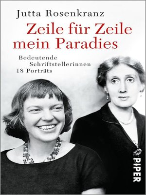 cover image of Zeile für Zeile mein Paradies