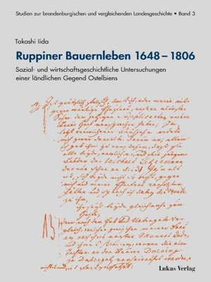 cover image of Ruppiner Bauernleben 1648–1806
