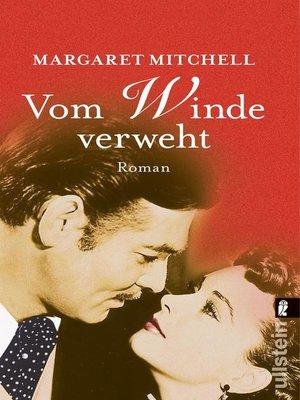 cover image of Vom Winde verweht