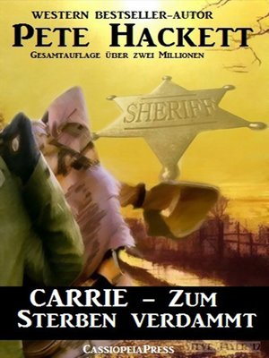 cover image of Carrie--Zum Sterben verdammt (Western)