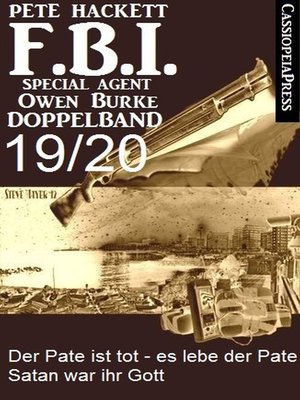 cover image of FBI Special Agent Owen Burke Folge 19/20--Doppelband