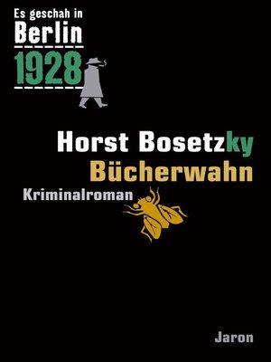 cover image of Bücherwahn
