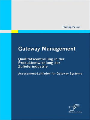 cover image of Gateway Management