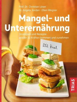 cover image of Mangel- und Unterernährung