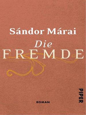 cover image of Die Fremde
