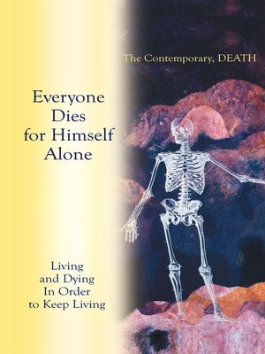 cover image of Living and Dying in Order to Keep Living