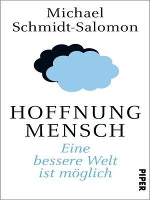 cover image of Hoffnung Mensch