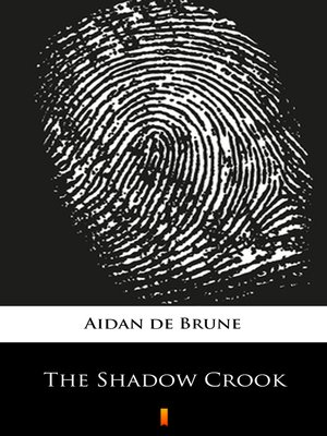 cover image of The Shadow Crook