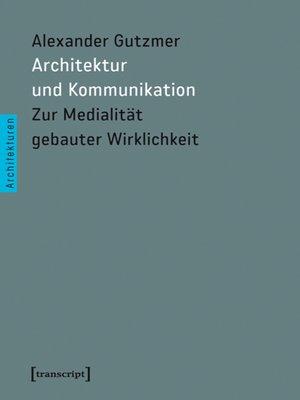 cover image of Architektur und Kommunikation