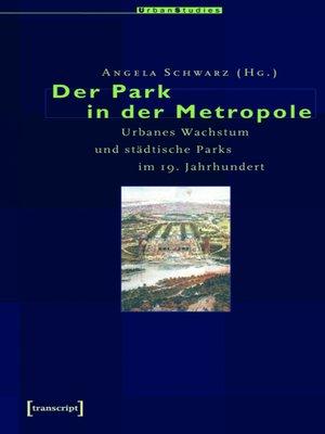 cover image of Der Park in der Metropole