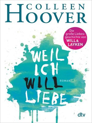 cover image of Weil ich Will liebe