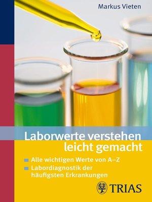 cover image of Laborwerte verstehen leicht gemacht