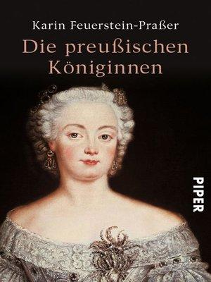 cover image of Die preußischen Königinnen