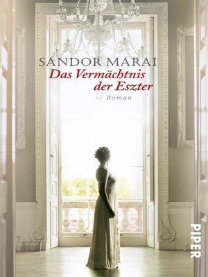 cover image of Das Vermächtnis der Eszter
