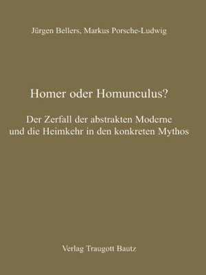 cover image of Homer oder Homunculus?