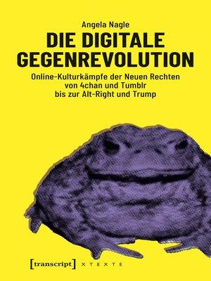 cover image of Die digitale Gegenrevolution