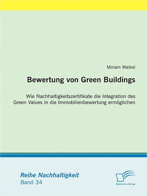 cover image of Bewertung von Green Buildings