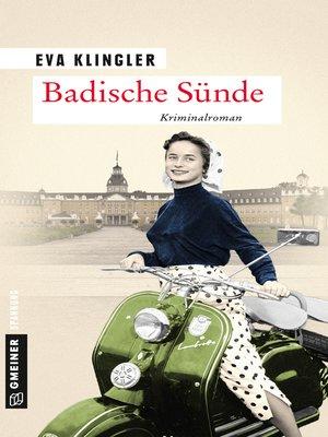 cover image of Badische Sünde